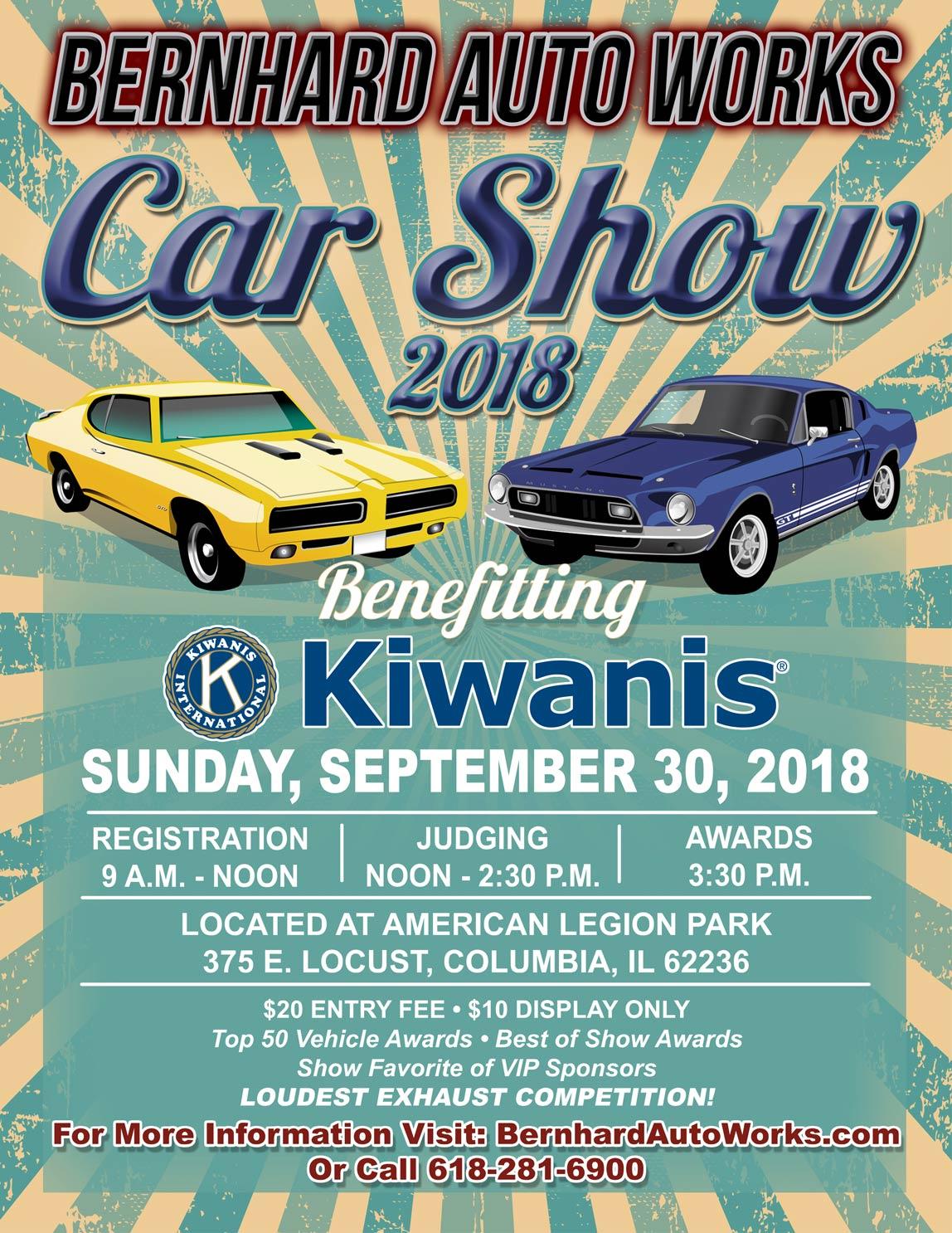 Bernhard AutoWorks About Us Car Show - September car shows